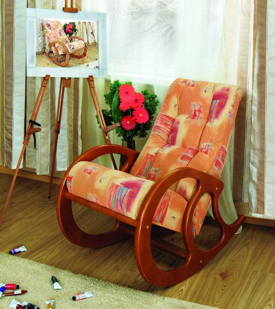Мягкие кресла качалки своими руками 7615