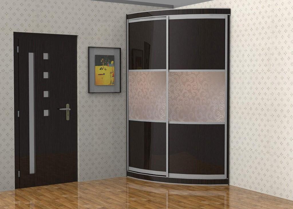 Радиусный шкаф-купе радион-2 - купить за 17825.00 руб. в мос.