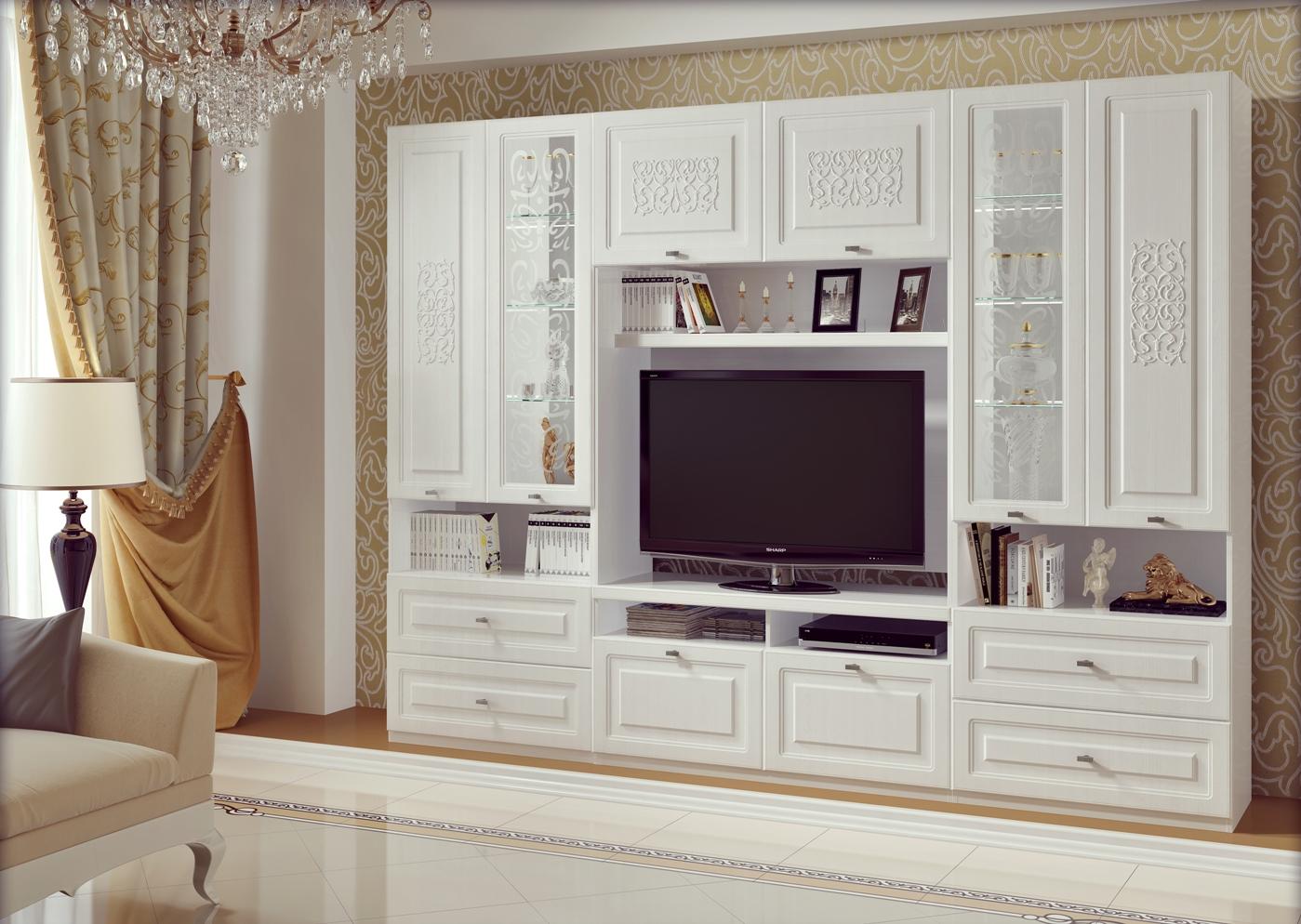 мебель для гостиной венеция фото