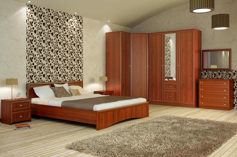Спальня анастасия (вариант 1) - купить за 53776.00 руб. в мо.