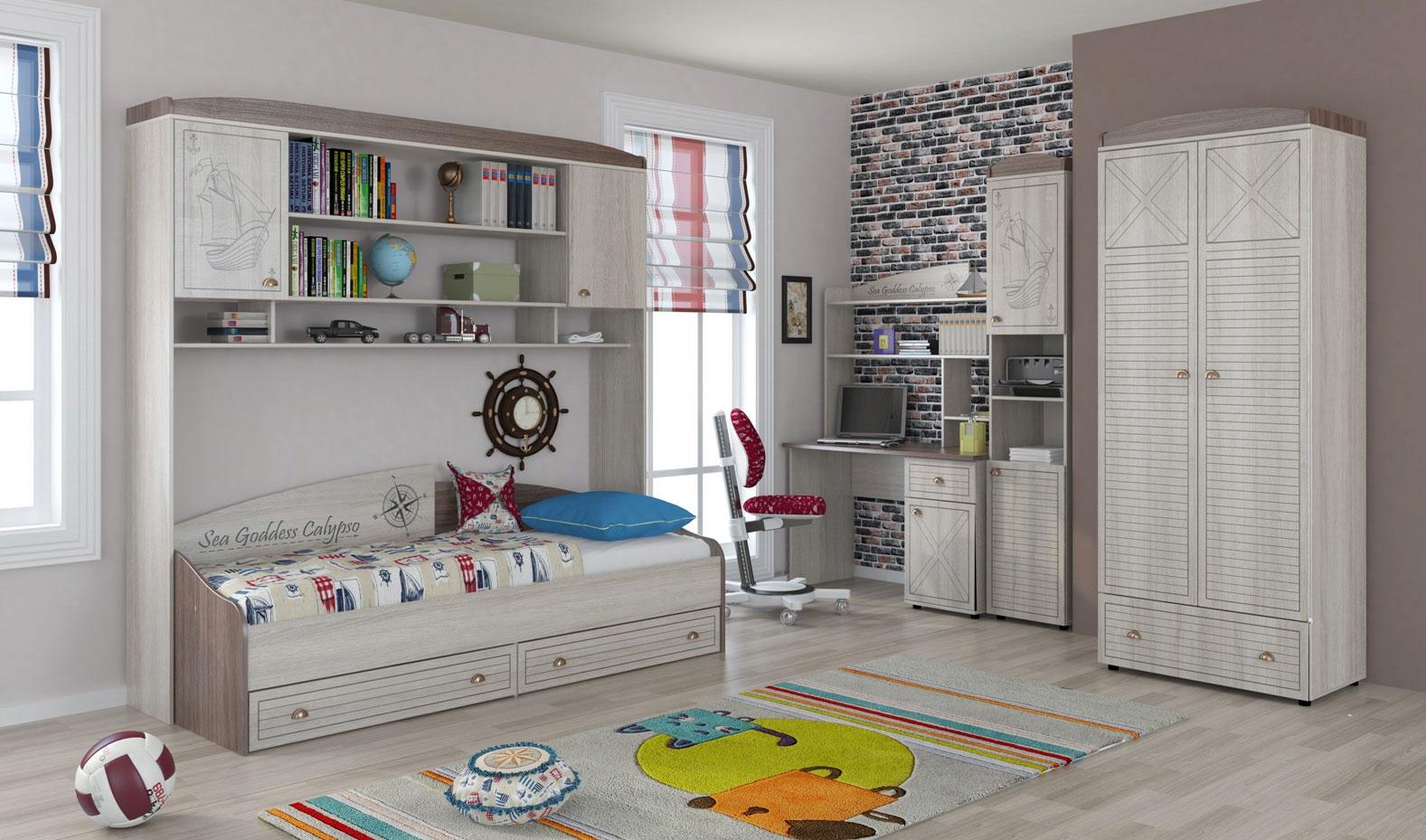Модульная детская калипсо (композиция 1) - московский дом ме.